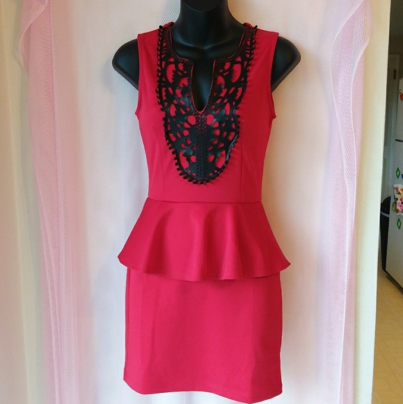 Charlotte Russe Dresses & Skirts - Charlotte Russe • Red Fashion Dress